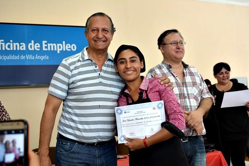 Chaco hoy con la presencia del intendente papp se for Oficina de empleo cursos