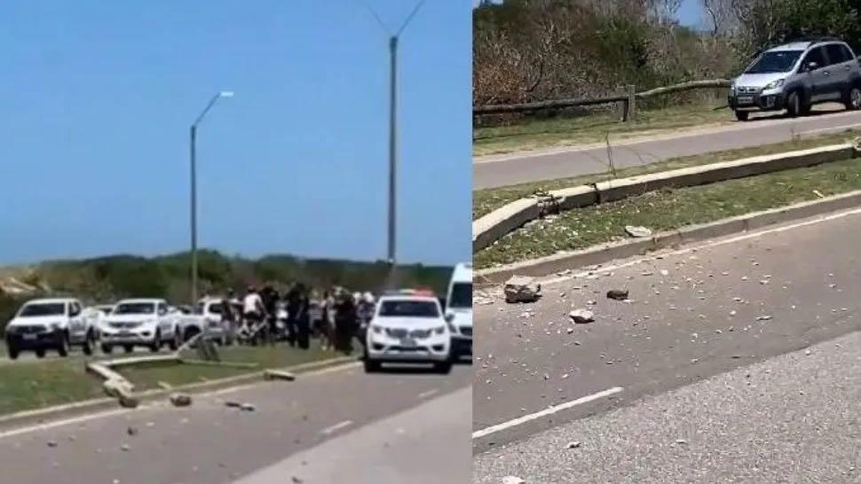 Un argentino alcoholizado atropella a una mujer en Uruguay