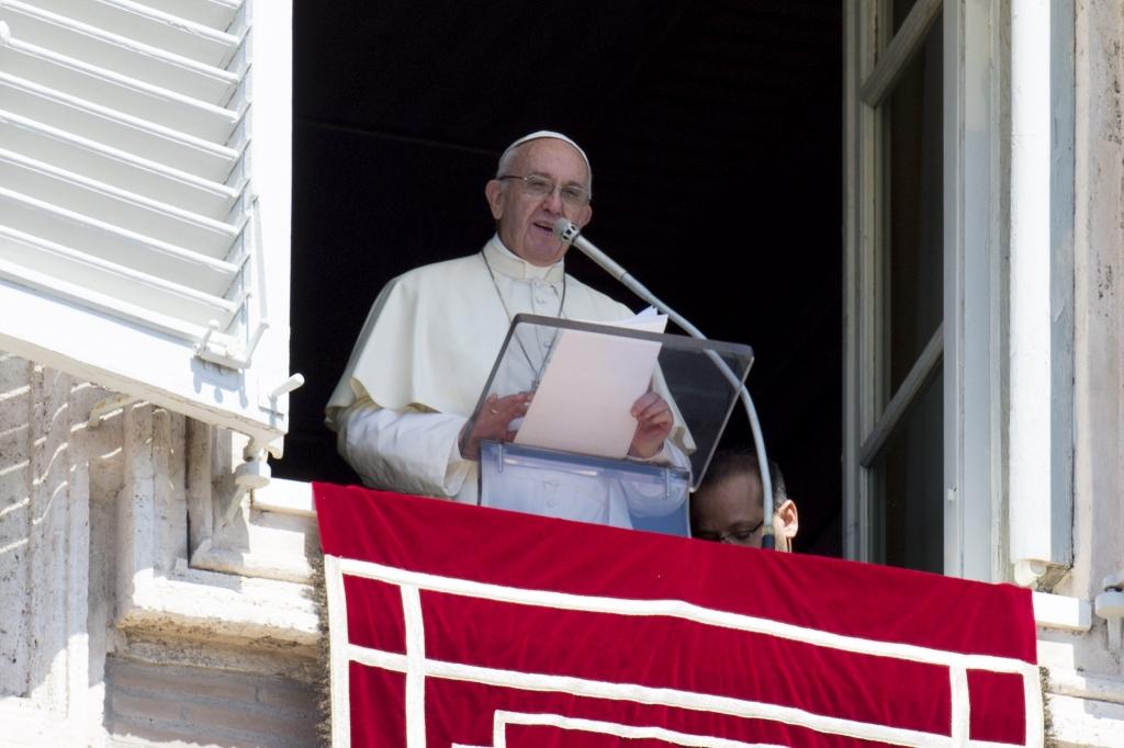El papa Francisco pidió cuidar y amar la vida
