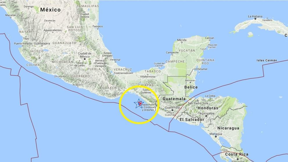 Venezuela se solidariza con México y Guatemala tras terremoto de 8,2 grados