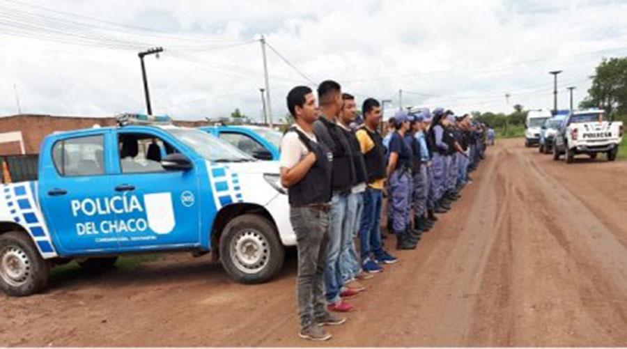 General San Martin, tras allanamiento detienen a 13 personas - ChacoHoy