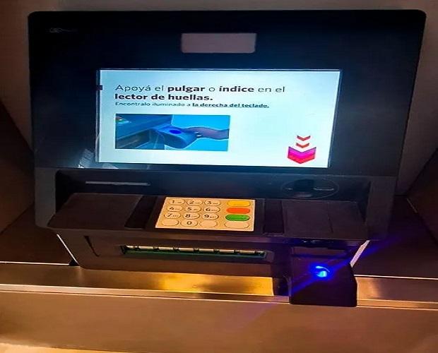 Los cajeros automáticos deberán usar huella dactilar para operar — Chau Tarjetas