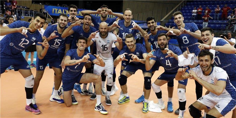 Vóley histórico: Argentina le ganó al campeón del mundo