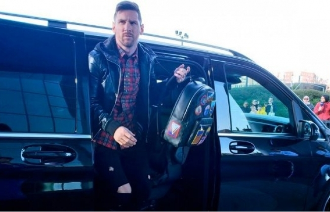 Messi compra un teléfono de lujo